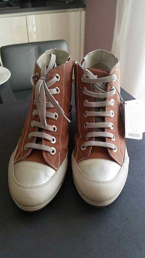 GEOX Freizeit Damen Schuhe rosa neu Gr. 39