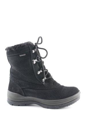 Geox Halbstiefel schwarz 90ies-Stil