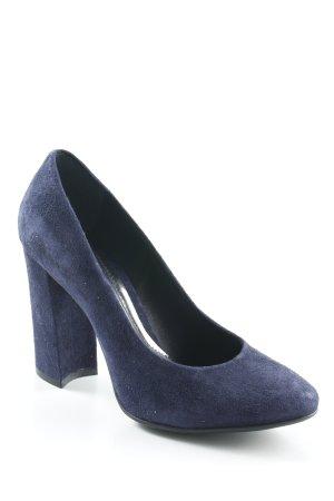 Geox High Heels dunkelblau Business-Look