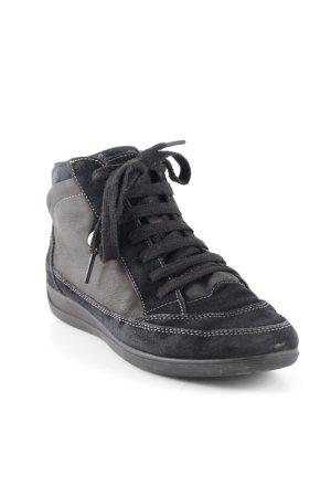 Geox High Top Sneaker schwarz Casual-Look