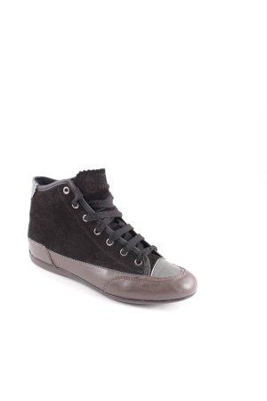 Geox High Top Sneaker schwarz sportlicher Stil