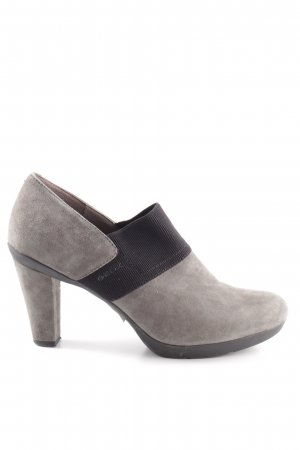 Geox High-Front Pumps grey-black casual look