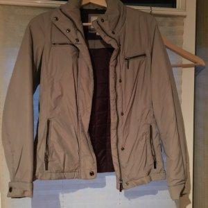 Geox, Jacke, selten getragen, sehr guter Zustand, grau Silber, Größe 34
