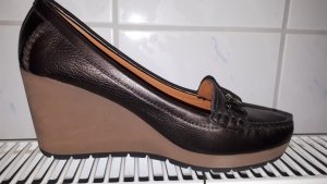 "GEOX Keil Pumps ""Dori"" Wedges bronze/braun Gr. 40"
