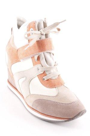 Geox Keil-Stiefeletten mehrfarbig Casual-Look