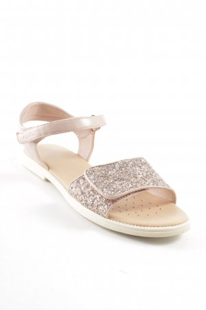 Geox Comfort Sandals pink glittery