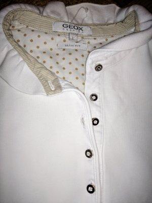 Geox Poloshirt weiß Swarovski Elements