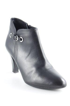 Geox Reißverschluss-Stiefeletten schwarz Elegant