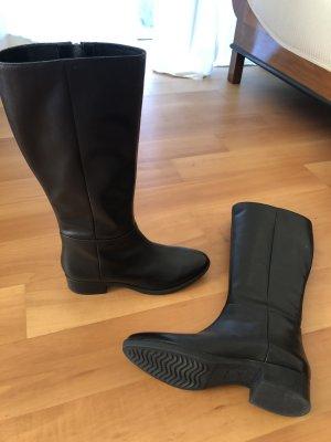 Geox Reiter Stiefel schwarz Leder gr.41