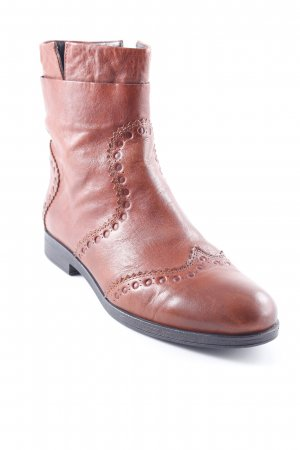 Geox Respira Ankle Boots cognac Casual-Look