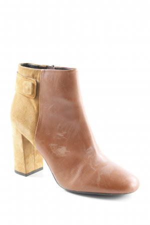 Geox Respira Booties cognac-sandbraun Country-Look