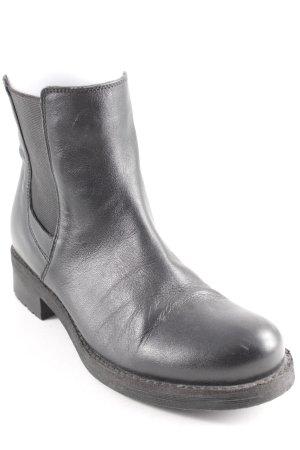 Geox Respira Chelsea Boots schwarz Casual-Look