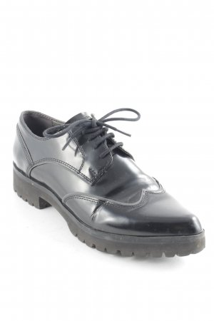 Geox Respira Derby schwarz Business-Look