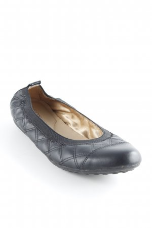 Geox Respira Ballerines pliables noir style simple