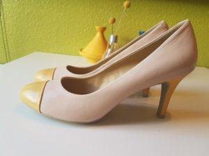 Geox Respira Heels Größe 41 gelb beige nude