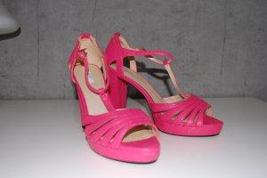 Geox Respira High Heel Sandale 39 pink