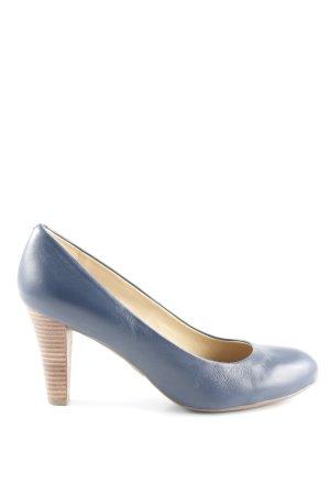 Geox Respira High Heels dunkelblau Business-Look