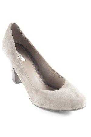 Geox Respira High Heels graubraun klassischer Stil