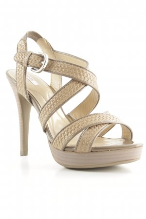 Geox Respira High Heels hellbraun Party-Look