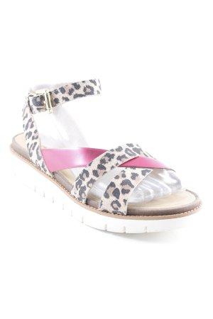 Geox Respira Sandales confort motif léopard style extravagant