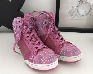 Geox Respira Mädchen Sneaker Blinkerschuhe Knöchelschuhe 35