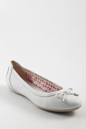 Geox Respira Mary Jane Ballerinas white romantic style