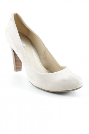 Geox Respira Plateau-Pumps braun-creme Business-Look