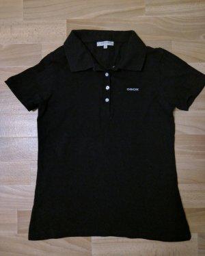 Geox Respira Poloshirt schwarz