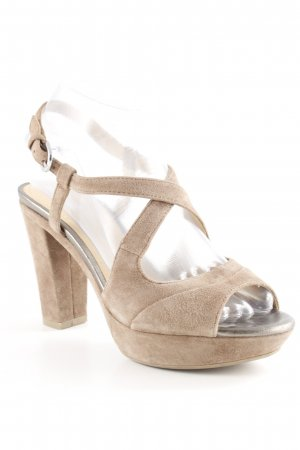 Geox Respira Riemchen-Sandaletten graubraun klassischer Stil
