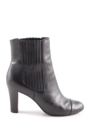 Geox Respira Schlüpf-Stiefeletten schwarz Elegant