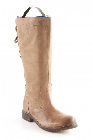 Geox Respira Lace-up Boots light brown casual look