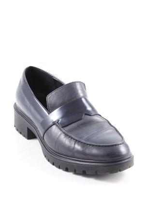 Geox Respira Pantofola antracite-nero stile professionale