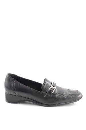 Geox Respira Pantofola nero stile professionale