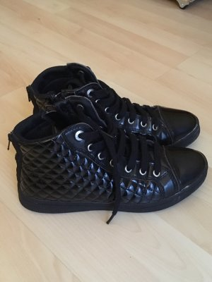 Geox Respira High Top Sneaker black