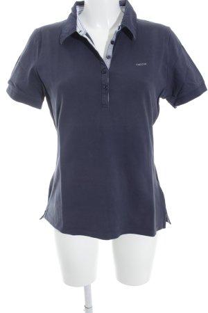 Geox Respira T-Shirt dunkelblau Mustermix Street-Fashion-Look