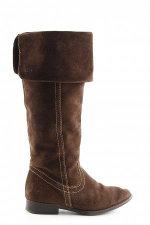 Geox Respira Western Boots brown casual look