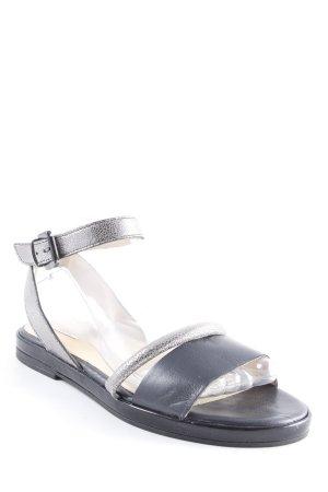 Geox Riemchen-Sandalen mehrfarbig Metallic-Optik