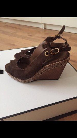 Geox Platform Sandals brown