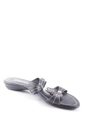 Geox Sandalen dunkelbraun klassischer Stil