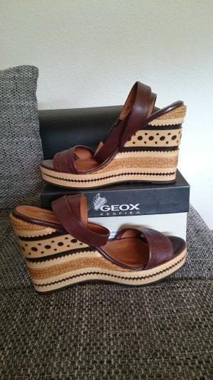 Geox Sandalette mit Keilabsatz