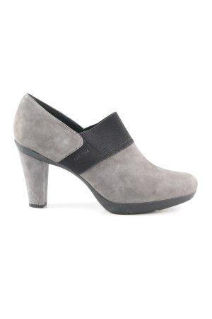 Geox Botas deslizantes gris oscuro-negro estilo «business»