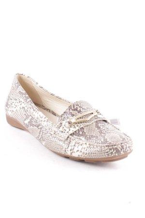 Geox Zapatos sin cordones marrón claro-crema estilo extravagante