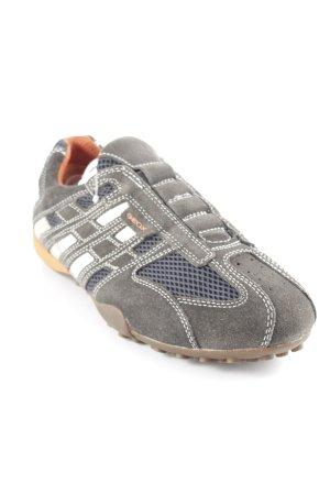 Geox Schlüpfsneaker graubraun-creme sportlicher Stil