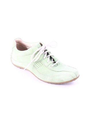 Geox Zapatos brogue verde claro estilo deportivo