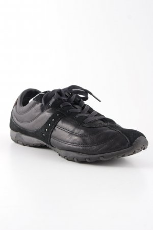 Geox Lace Shoes black-dark brown casual look