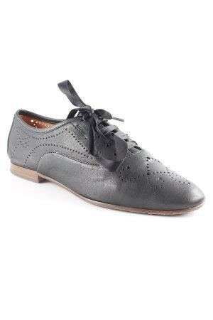 Geox Schnürschuhe schwarz klassischer Stil