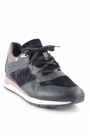 Geox Schnürsneaker florales Muster Empire-Look
