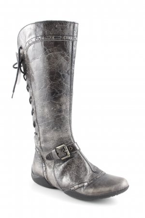Geox Lace-up Boots green grey-black second hand look