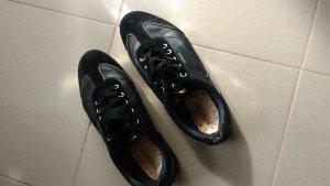 Geox Respira Sneakers met veters zwart