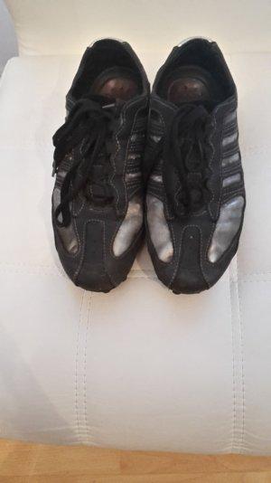Geox schuhe in schwarz silber